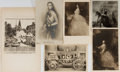 Miscellaneous:Postcards, [Post Cards]. Group of Five Postcards. Ca, 1890's. 5.5 x 3.5inches. Light toning and fading. Also comes with one original e...