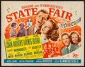"Movie Posters:Musical, State Fair (20th Century Fox, 1945). Half Sheet (22"" X 28""). Musical.. ..."