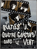 "Movie Posters:Rock and Roll, A Hard Day's Night (Pathe Marconi/EMI, R-1982). French Grande (47""X 63""). Rock and Roll.. ..."