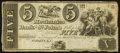 Canadian Currency: , St. John's, LC- The Mechanics Bank of St. John's $5 18__ Ch#440-10-02R. ...