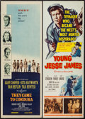 "Movie Posters:War, They Came to Cordura & Other Lot (Columbia, 1959). Inserts (2)(14"" X 36""). War.. ... (Total: 2 Items)"