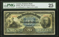 Canadian Currency: , Toronto, ON- The Dominion Bank $20 Jan. 2, 1925 Ch. # 220-20-08. ...