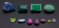 Estate Jewelry:Unmounted Gemstones, Unmounted Gemstone Lot. ... (Total: 11 Items)