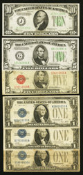 Red, Blue, and Green Seal Notes Plus MPCs