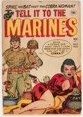 Golden Age (1938-1955):War, Tell it to the Marines #2 (Toby Publishing, 1952) Condition: GD....