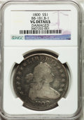 Early Dollars, 1800 $1 B-1, BB-181, R.5 -- Damaged -- NGC Details. VG. NGC Census:(0/0). PCGS Population (0/6). ...