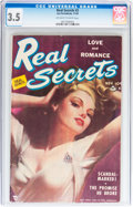 Golden Age (1938-1955):Romance, Real Secrets #2 (Ace Periodicals, 1949) CGC VG- 3.5 Off-white towhite pages....