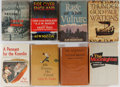 Books:First Editions, [Fiction]. Group of Eight. Various publishers. First editions ofThe Moonlighter, The Rage of the Vulture, Thunder God, ...(Total: 8 Items)