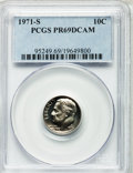 Proof Roosevelt Dimes: , 1971-S 10C PR69 Deep Cameo PCGS. PCGS Population (122/0). NGCCensus: (121/0). Numismedia Wsl. Price for problem free NGC/...