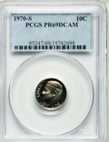 Proof Roosevelt Dimes: , 1970-S 10C PR69 Deep Cameo PCGS. PCGS Population (188/0). NGCCensus: (98/0). Numismedia Wsl. Price for problem free NGC/P...