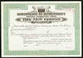 "Miscellaneous:Other, The New Edison ""The Phonograph With A Soul"" Certificate ofAuthenticity 19__ Specimen.. ..."