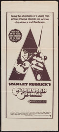 "Movie Posters:Science Fiction, A Clockwork Orange (Warner Brothers, 1971). Australian Daybill (13""X 30""). Science Fiction.. ..."