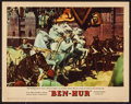 "Movie Posters:Academy Award Winners, Ben-Hur (MGM, 1960). Lobby Card (11"" X 14""). Academy AwardWinners.. ..."