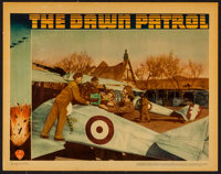 "The Dawn Patrol (Warner Brothers, 1938). Lobby Card (11"" X 14""). War"