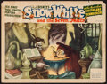 "Movie Posters:Animation, Snow White and the Seven Dwarfs (RKO, 1937). Lobby Card (11"" X14""). Animation.. ..."