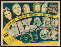 "Movie Posters:Fantasy, The Wizard of Oz (MGM, 1939). Trimmed Title Lobby Card (10.5"" X 13.75""). Fantasy.. ..."