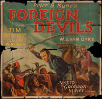 "Foreign Devils (MGM, 1927). Six Sheet (76"" X 79""). Action"