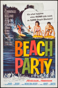 "Movie Posters:Comedy, Beach Party (American International, 1963). One Sheet (27"" X 41"").Comedy.. ..."