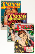 Golden Age (1938-1955):Romance, Love at First Sight Group (Ace, 1951-56) Condition: Average VF....(Total: 10 Comic Books)
