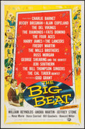 """Movie Posters:Rock and Roll, The Big Beat (Universal International, 1958). One Sheet (27"""" X 41"""")& Title Lobby Card (11"""" X 14""""). Rock and Roll.. ... (Total: 2Items)"""