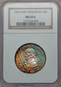 Commemorative Silver, 1925 50C Vancouver MS65 ★ NGC....