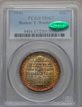 Commemorative Silver, 1946 50C Booker T. Washington MS67 PCGS. CAC....