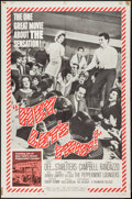 "Movie Posters:Rock and Roll, Hey, Let's Twist (Paramount, 1962). One Sheet (27"" X 41""). Rock andRoll.. ..."