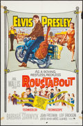 "Movie Posters:Elvis Presley, Roustabout (Paramount, 1964). One Sheet (27"" X 41""), Heralds (3)(11"" X 17""), and Color Photo (8"" X 10""). Elvis Presley.. ...(Total: 5 Items)"