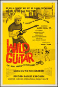 """Movie Posters:Rock and Roll, Wild Guitar (Fairway International, 1962). One Sheet (27"""" X 41"""").Rock and Roll.. ..."""