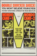 "Movie Posters:Exploitation, Mondo Cane #1 & Mondo Cane #2 (Cinemation, R-1970). One Sheet(27"" X 41"") & Photos (8) (8"" X 10""). Exploitation.. ... (Total:9 Items)"