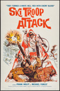 "Movie Posters:War, Ski Troop Attack (Film Group, 1960). One Sheet (27"" X 41""), andPhotos (9) (8"" X 10""). War.. ... (Total: 10 Items)"