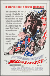 """Wild in the Streets (American International, 1968). One Sheet (27"""" X 41"""") & Lobby Cards (5) (11""""..."""