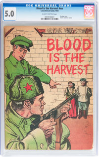 Blood Is the Harvest #nn (Catechetical Guild, 1950) CGC VG/FN 5.0 Slightly brittle pages