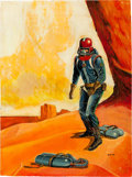 Original Comic Art:Covers, Dan Adkins Science Fiction Illustration Original Art (undated)....