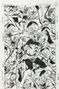 Original Comic Art:Covers, Karl Kesel Suicide Squad #20 Cover Original Art (DC,1988)....