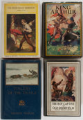 Books:Children's Books, [Children's]. Group of Four. Various publishers. Illustratededitions. Includes Toilers of the Trails and The BoyCapt... (Total: 4 Items)