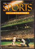 Baseball Collectibles:Publications, 1954 Sports Illustrated First Issue. ...