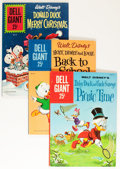 Silver Age (1956-1969):Miscellaneous, Dell Giant Walt Disney Related Group (Dell, 1958-62).... (Total: 8 Comic Books)
