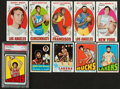 Basketball Cards:Lots, 1969 - 1973 Topps Basketball Collection (87) With Stars and HoFers....
