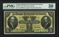 Canadian Currency: , Montreal, PQ- La Banque Provinciale Du Canada $5 Jan. 31, 1919 Ch.# 615-14-06. ...