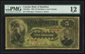 Canadian Currency: , Hamilton, LC- The Bank of Hamilton $5 June 1, 1892 Ch. #345-16-02a. ...