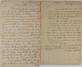 Autographs:Statesmen, [Tench Coxe]. Pair of Documents Signed... (Total: 2 Items)