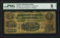 Canadian Currency: , Montreal, CE- The Mechanics Bank $4 June 1, 1872 Ch. # 430-10-04....
