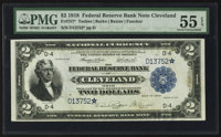 Fr. 757* $2 1918 Federal Reserve Bank Note PMG About Uncirculated 55 EPQ
