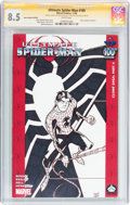 Modern Age (1980-Present):Superhero, Ultimate Spider-Man #100 Hero Initiative Ryan Cody Edition (Marvel,2006) CGC VF+ 8.5 White pages....