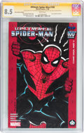 Modern Age (1980-Present):Superhero, Ultimate Spider-Man #100 Hero Initiative Al Milgrom Edition(Marvel, 2006) CGC VF+ 8.5 White pages....