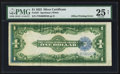 Error Notes:Large Size Errors, Fr. 237 $1 1923 Silver Certificate. PMG Very Fine 25 Net.. ...