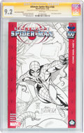 Modern Age (1980-Present):Superhero, Ultimate Spider-Man #100 Hero Initiative Mark Buckingham Edition(Marvel, 2006) CGC NM- 9.2 White pages....