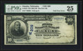 Error Notes:Major Errors, Omaha, NE - $10 1902 Date Back Fr. 616 The First NB Ch. # (W)209....