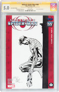 Modern Age (1980-Present):Superhero, Ultimate Spider-Man #100 Hero Initiative Bob Hall Edition (Marvel,2006) CGC VG/FN 5.0 White pages....